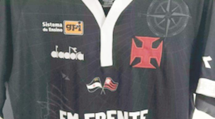 Vasco homenageia vítimas do Flamengo e chuvas do Rio na camisa que utilizará  na semifinal - Jornal Destaque Regional 6f598bc09176a